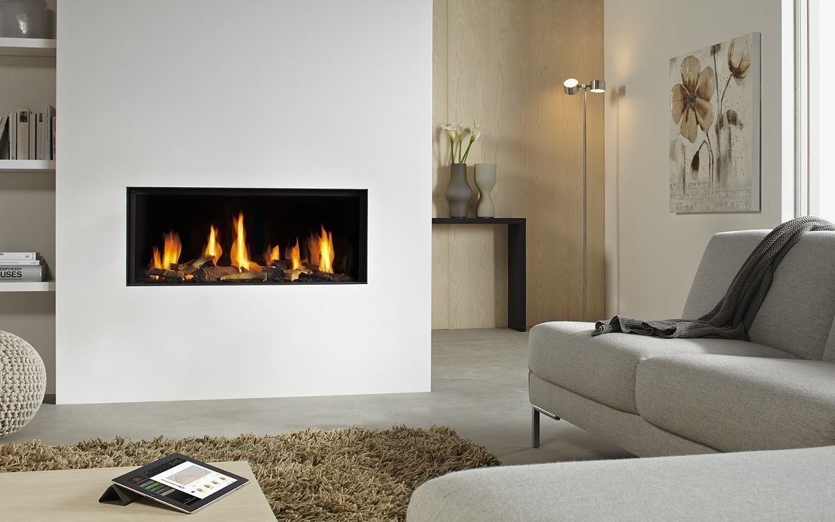 Dru Metro 100xt Rch Plynovy Krb Wall Gas Fires Contemporary Fireplace Home