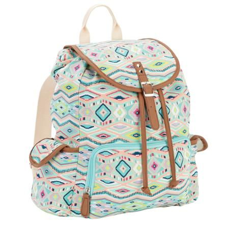 no boundaries 18 printed canvas buckle flap backpack collections pinterest backpacks and bag. Black Bedroom Furniture Sets. Home Design Ideas