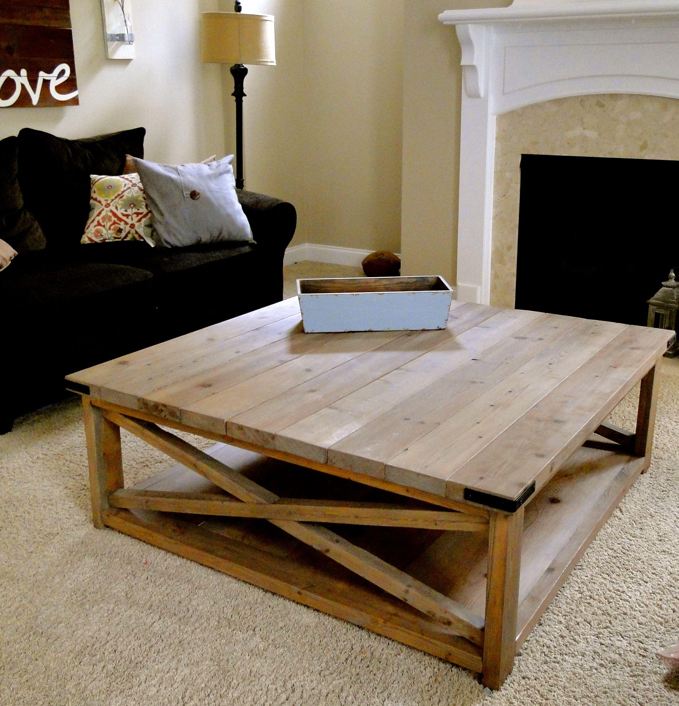 Coffee table home decor