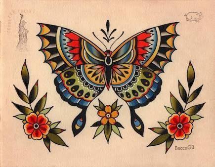 old #school #butterfly #tattoo #- #Pesquisa #Google #- # #Butterfly # #Google # #Pesquisa # #…