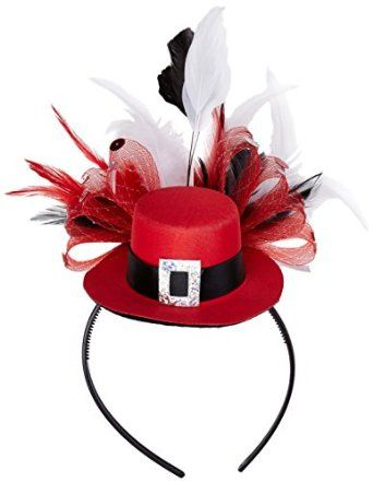 6f340a535 Christmas Top Hat Headband - Costume Idea | Wrapping All the Way ...