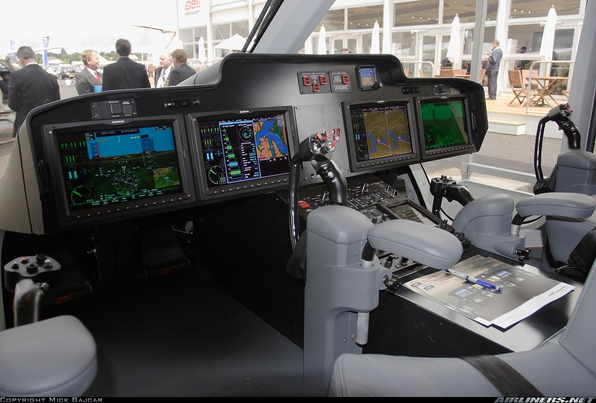 Bell 525 Relentless | Picture of the Bell 525 Relentless (mock-up) aircraft