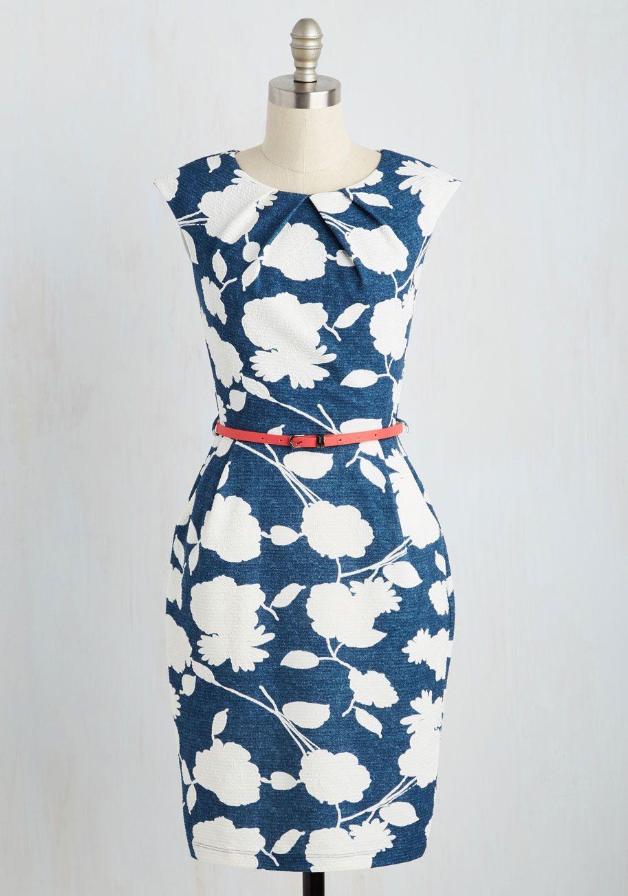 Print Work Dresses
