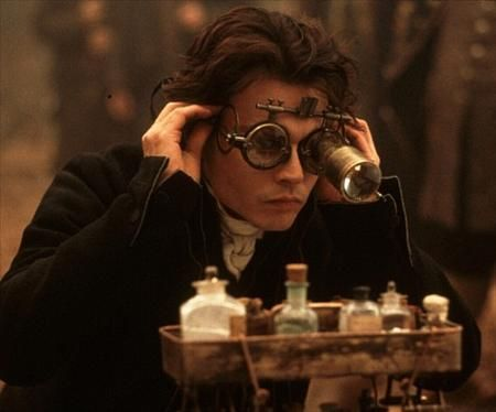 Johnny Depp in Sleepy Hollow – #Steampunk #Eyewear