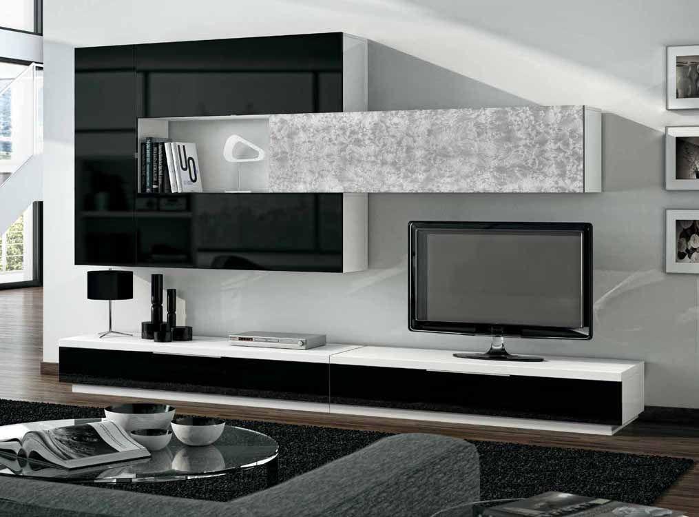 Muebles Munoz Catalogo De Muebles Salones Actuales Modelo Thierri Tv Wall Decor Living Room Decor Modern Wall Units