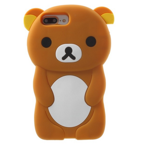 low priced 4a25b 34a61 Cute 3D Bear Case Cover For iPhone 7 7 plus 6s 6 plus 5 5S SE 5c 4S ...