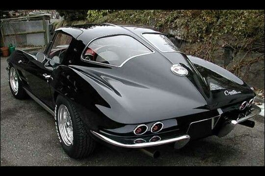 68 Split Window Vette