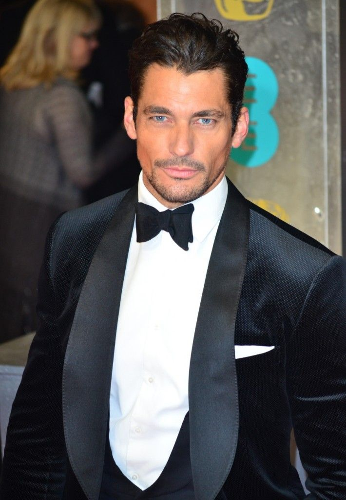 David Gandy at the 2014 BAFTAs