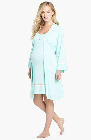 Olian 3-Piece Maternity Sleepwear Set available at #Nordstrom ...