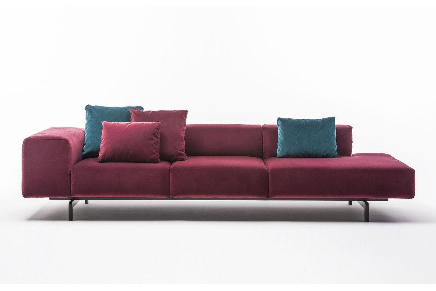 Kartell Sofa Largo Velluto Sofa By Piero Lissoni For Kartell Area Domus