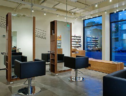 Small Beauty Salon Interior Design | The TEN PACHI Hair Salon in ...