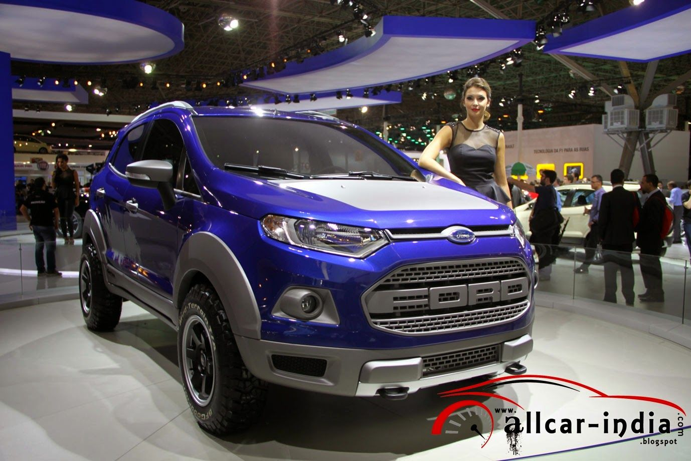 Ford Of Brazil Has Showcased Three New Customized Versions Of The Ford Ecosport At Sao Paulo International Motor Show Without Discus Ford Ecosport Ford Brazil