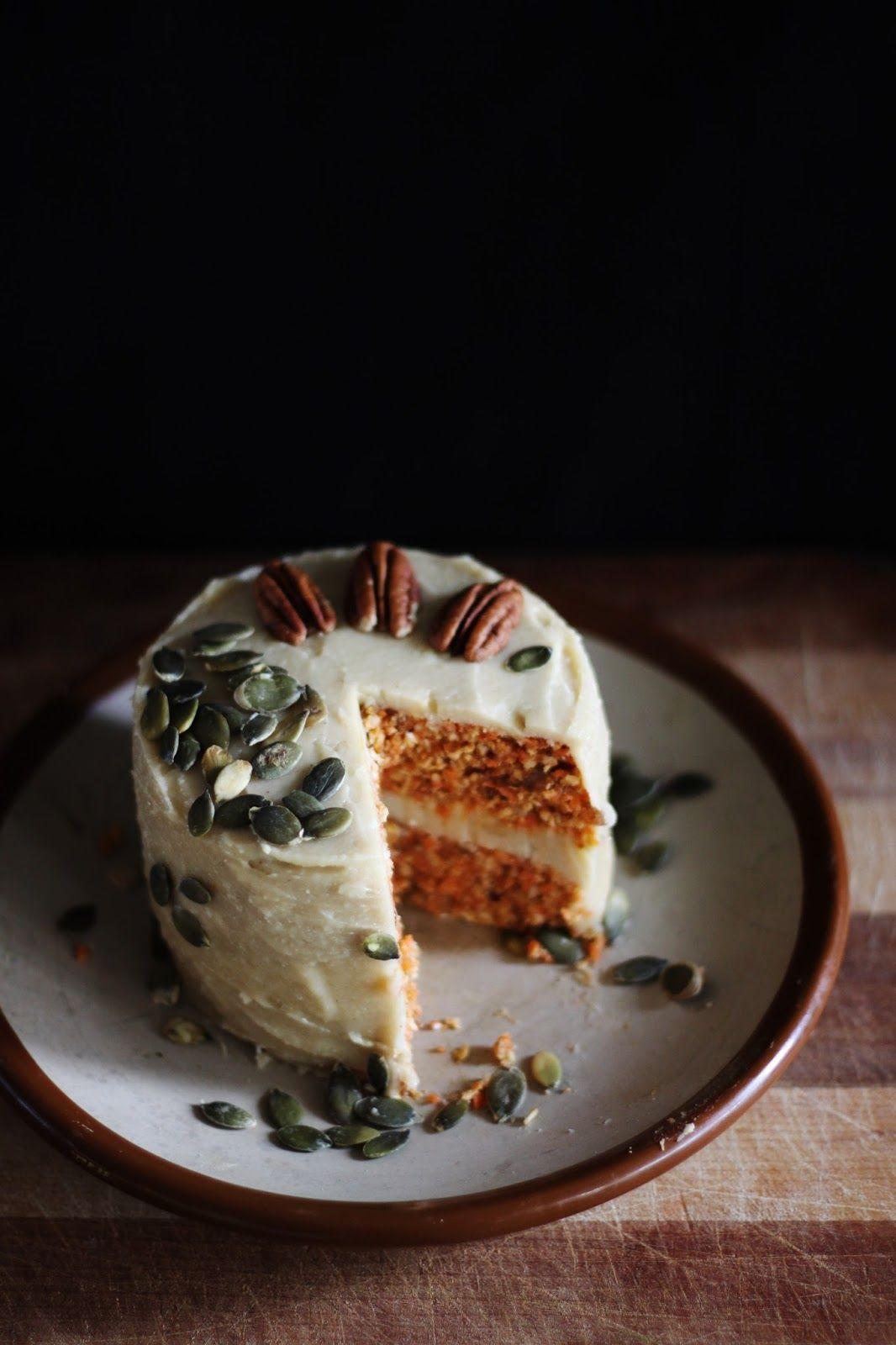 Rawsome Vegan Carrot Cake