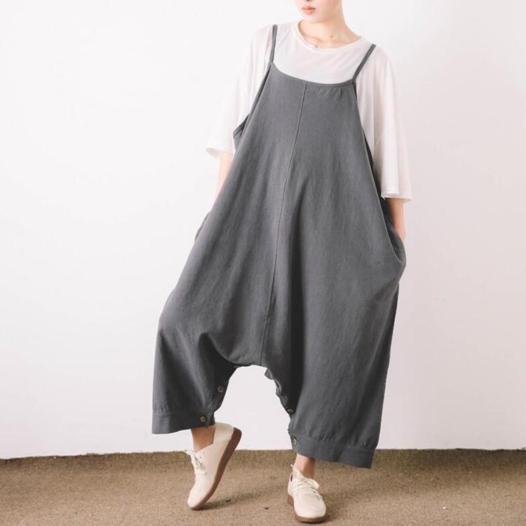 Les femmes de taille plus sangle pantalon - Tkdress - 1