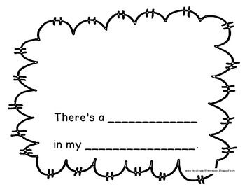 There's a ____ in my ____: A Dr  Seuss Rhyming Activity