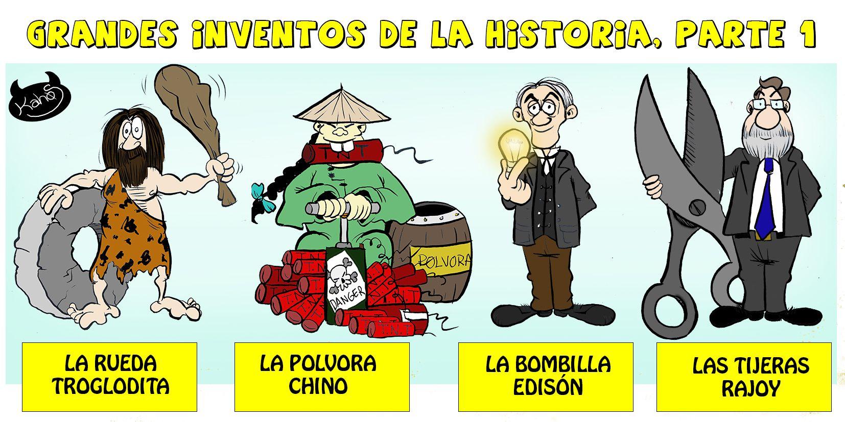 Recordar la historia de la tecnología, Inventos alumnos de 4º ESO ...