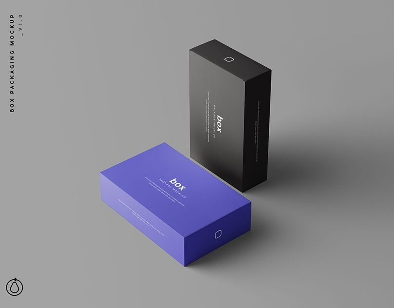 Download Box Packaging Mockup Psd Box Mockup Packaging Mockup Mockup Packaging Box