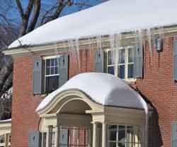 Assessing The Damage From Ice Dams Stop Ice Dams Today Ice Dams Roof Problems First Time Home Buyers