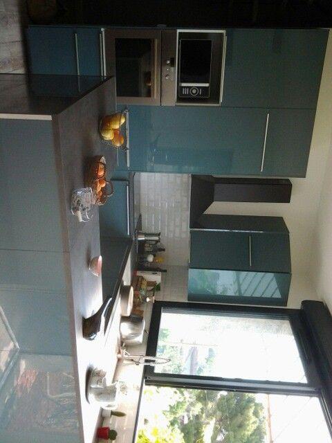 Cuisine bleu turquoise ikea | La bar
