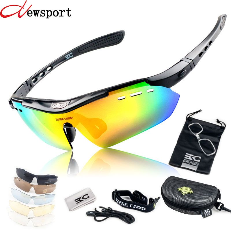 f01b4908bc1  Free Shipping  Buy Best New UV400 Polarized Men women Cycling Glasses  Outdoor Sport Mountain Road Bicycle MTB Running Fishing Sunglasses with 6  Lens Online ...