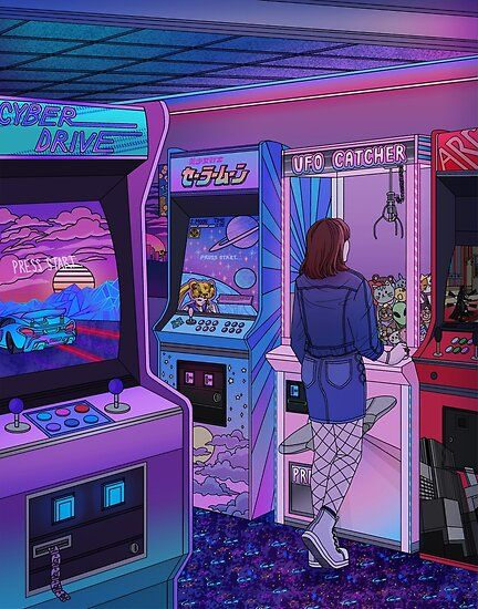 Arcade Poster by Kelsey Smith