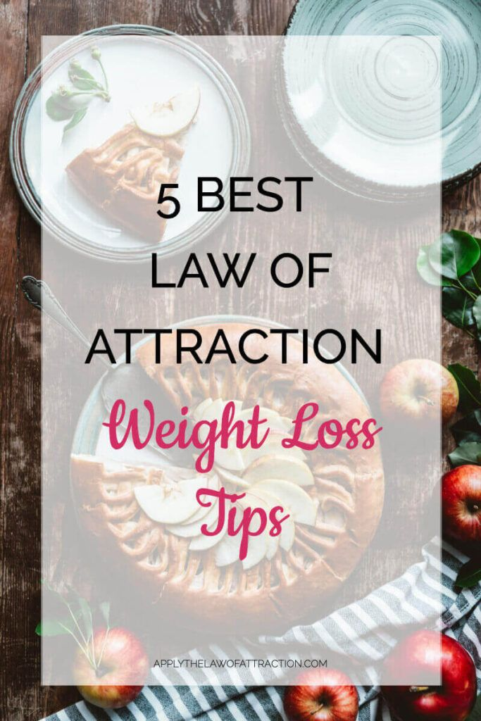 Photo of 5 Best Law of Attraction Weight Loss Tips