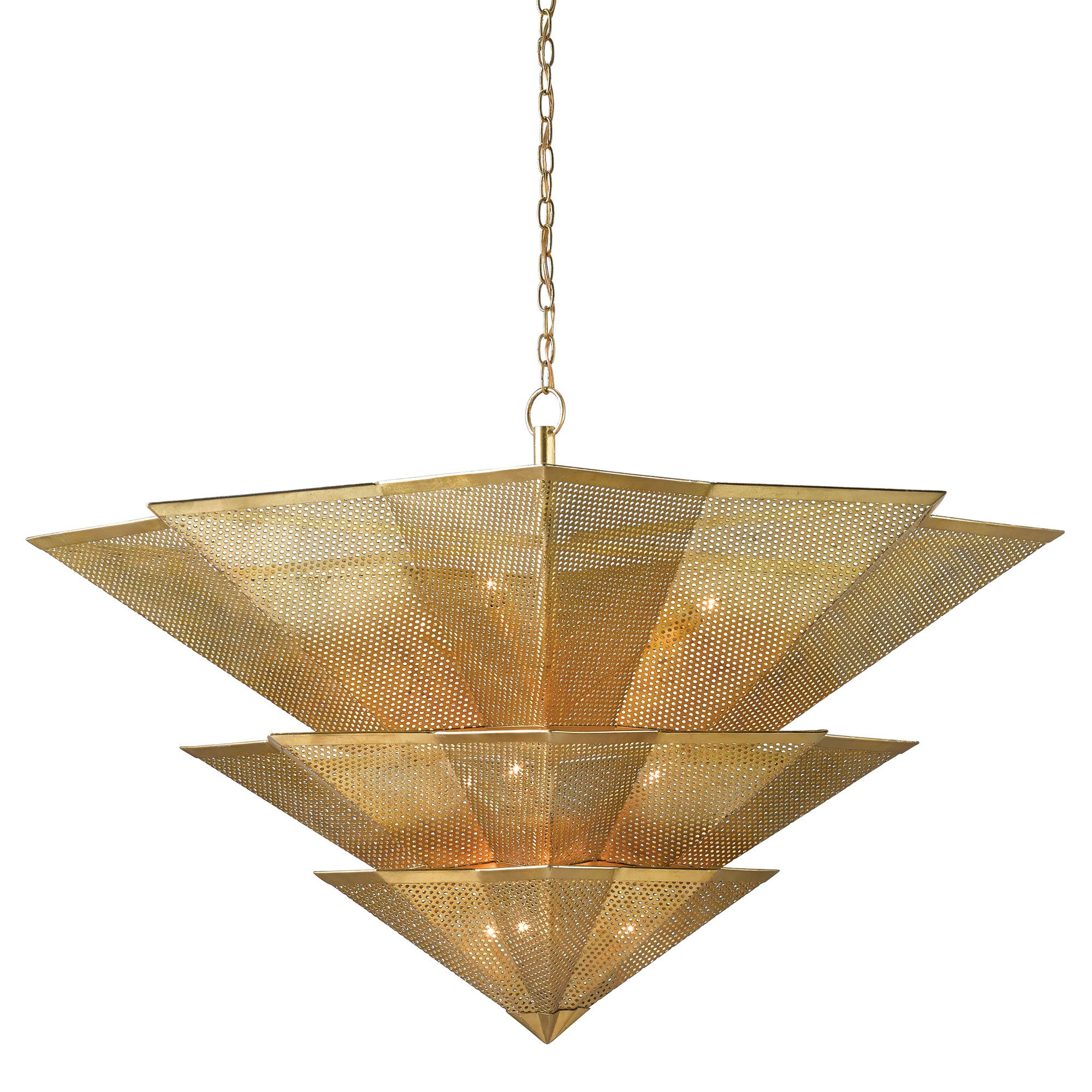 Hanway Chandelier By Currey And Company 9000 0359 Cc Chandelier Ceiling Lights Geometric Chandelier Ceiling Lights