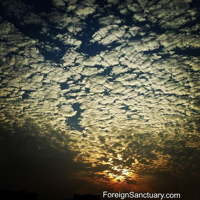 The #beautiful #sky this #autumn #evening in #Taiwan! - #travel #explore #expat #weekend #littlethings #sunset