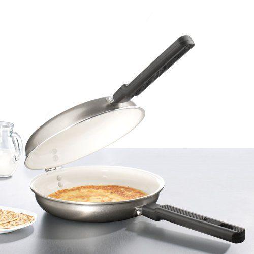 Accesorios para cocina y comedor - Sartén doble con bisagra -  http://tienda.casuarios.com/tv-das-original-brat-maxx-sarten-doble-con-bisagra-ceramica/