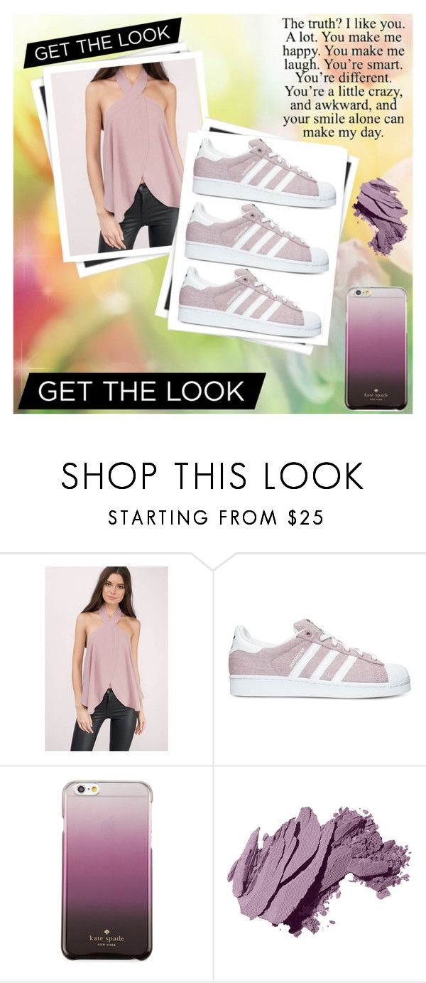 """No Limit's"" by tjedge ❤ liked on Polyvore featuring GALA, Tobi, adidas, Kate Spade and Bobbi Brown Cosmetics"