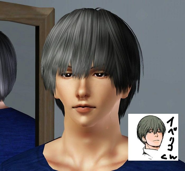 Simplestudio404 Free Download Iberico Hairstyle By