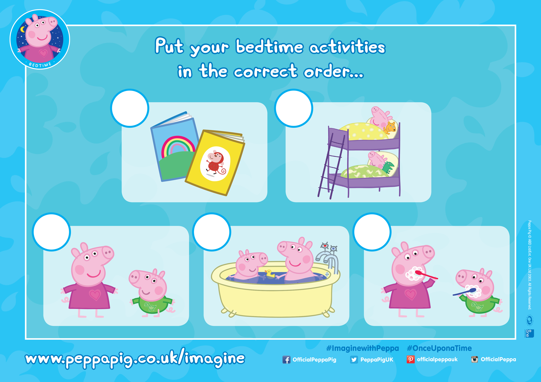 Can Your Little One Put The Routine Tasks In Order Of