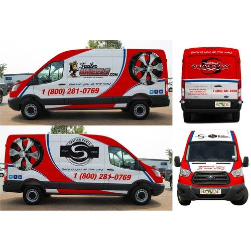 Ontwerpen All Over Ford Transit Cargo Extended Wheel Base High