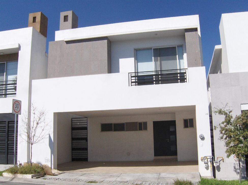 Home decore house fachada casa mexico for Modelos de casas en mexico