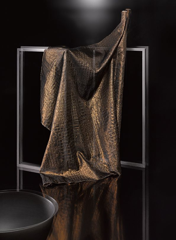 METAL By Ulf Moritz Sheer Jacquard Fabric With An Allover Design And Lurex Yarns SAHCO In 2019