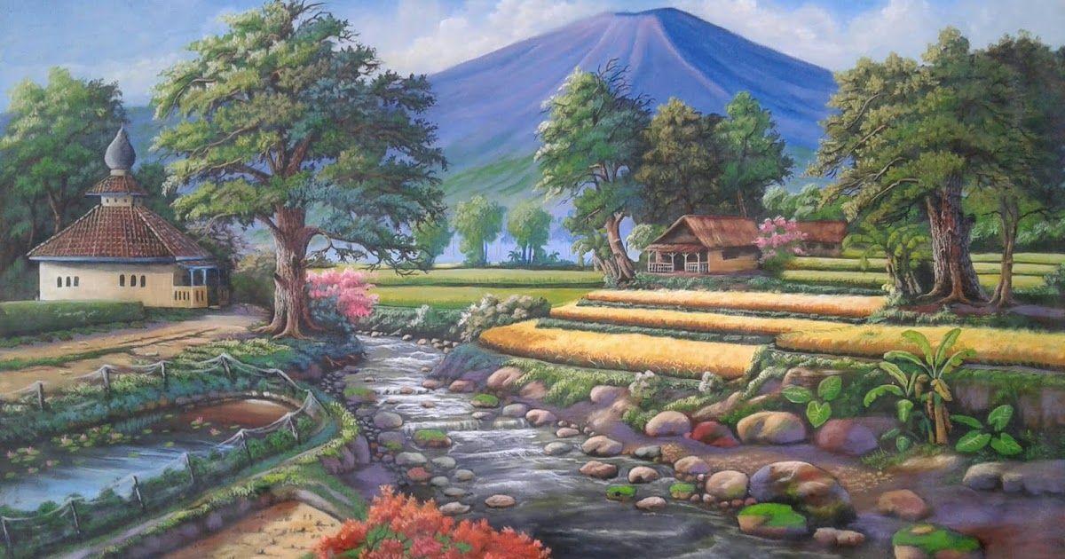 29 Lukisan Pemandangan Alam Lukisan Pemandangan Alam Lukisan Pemandangan Alam Download Terjual Jual Lukisan Murah Gambar Lukisan P Di 2020 Pemandangan Gambar Alam