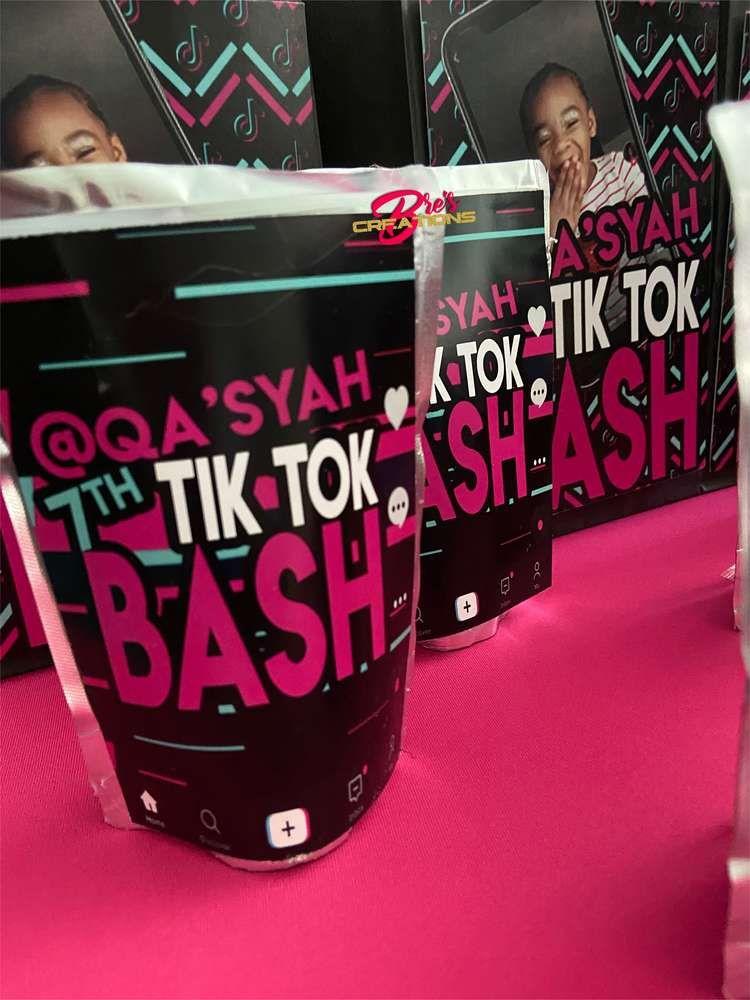 Tiktok Inspired Theme Birthday Party Ideas Photo 3 Of 27 Birthday Party Themes Catch My Party Birthday Bash