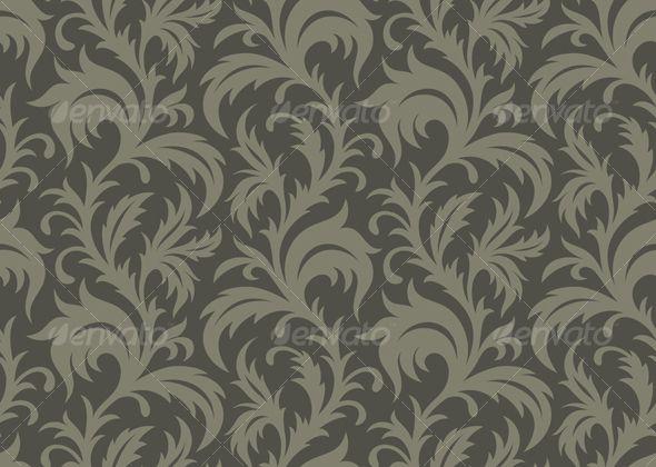 Seamless Wallpaper Classic wallpaper Pattern wallpaper and Vector