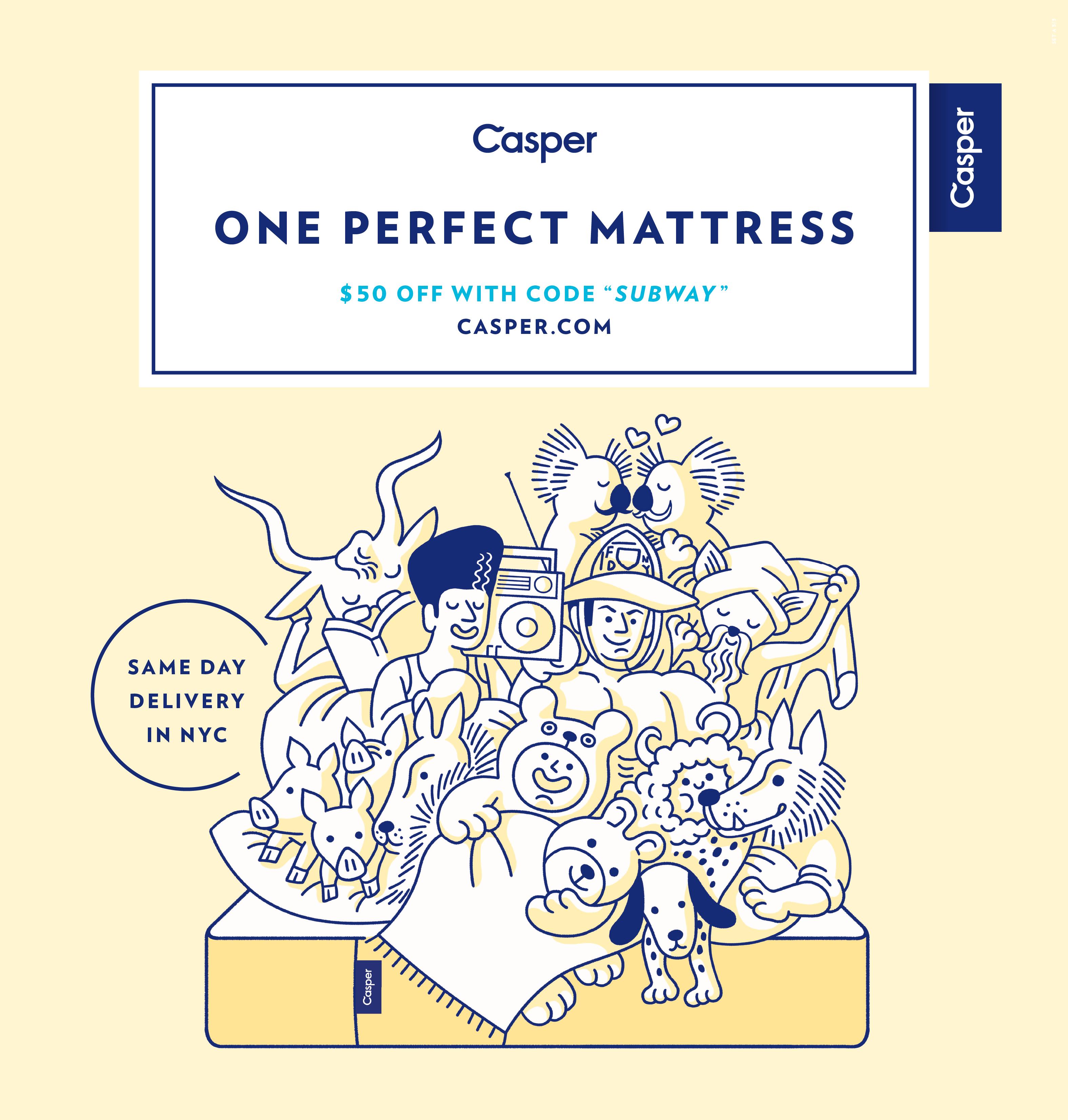Rebranding Mattresses Casper Mattress Creative Advertising