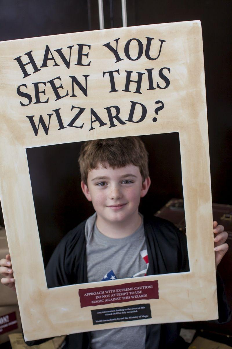 Wizard Boy Birthday Party Printables Supplies & Decorations