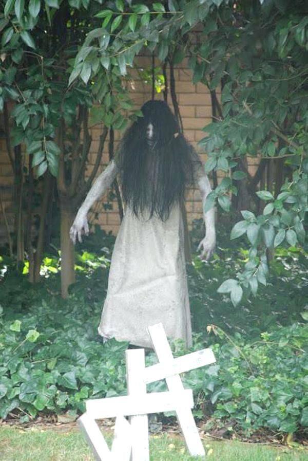 Outdoor Halloween Decoration Ideas Cheap Easy Decorations For Ghost