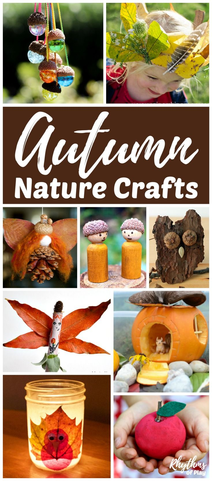 fall nature crafts for kids and teens nature crafts pinecone
