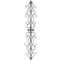 Twin Birds Scroll Metal Wall Decor in 2020 | Metal wall ... on Hobby Lobby Outdoor Wall Decor Metal id=73794