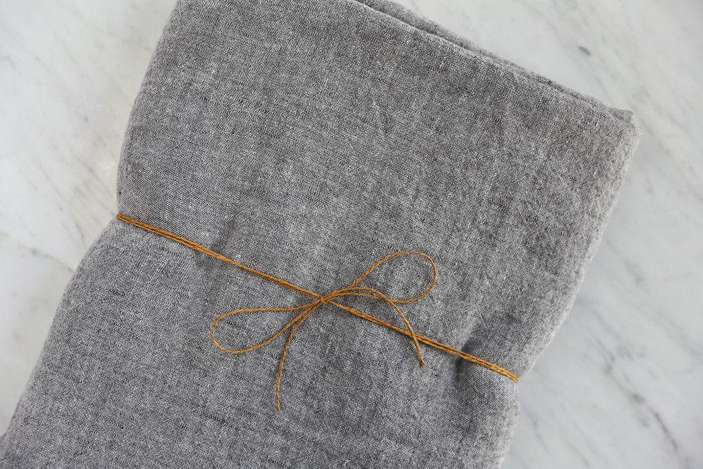 Chambray Linen Tablecloth