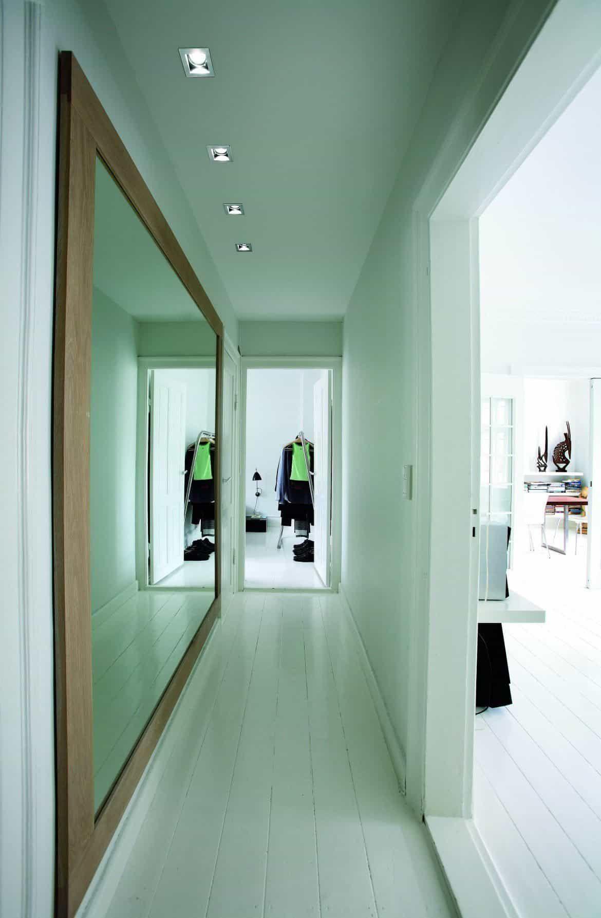 Hallway Mirrors Can Brighten The Space Hallway Mirror Narrow Hallway Decorating Hallway Decorating