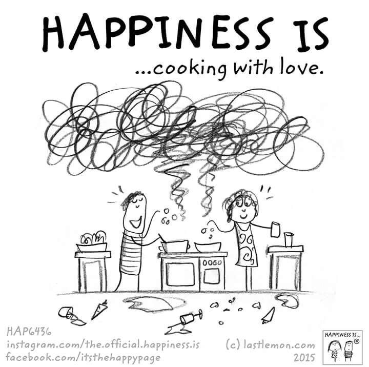 always that's why my food is soooooo good! 😋 | Happiness is
