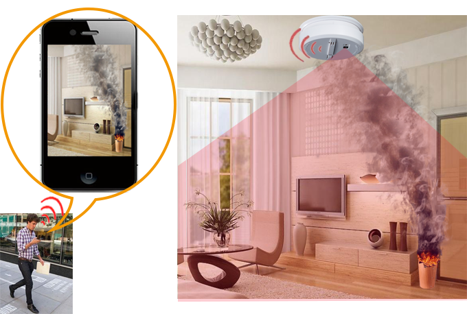 Vigek Smoke Alarm:Get Alerts & RealTime View From Anywhere by Shuwen Liu — Kickstarter
