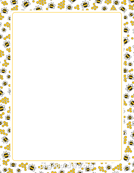 Bee Border | BEE | Pinterest | Bees