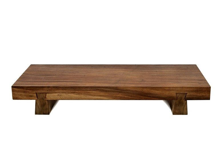 Download The Catalogue And Request Prices Of Low Solid Wood Garden Side Table Suar Low