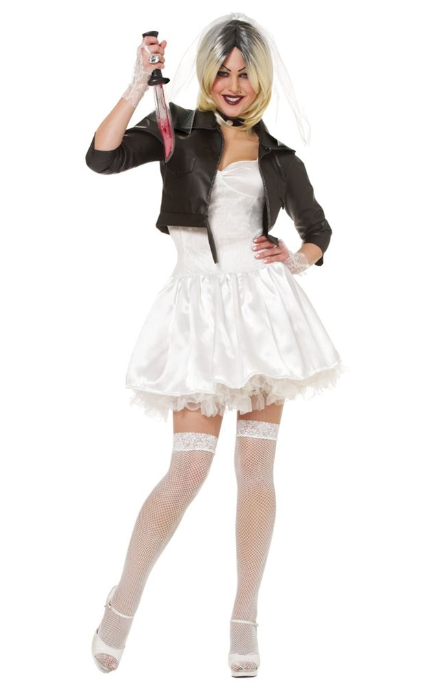 Tiffany Valentine Costume: Bride Of Chucky Tiffany Adult Womens Costume Price: $44.99